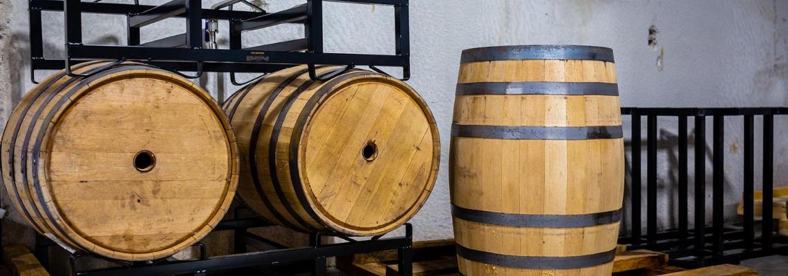 low calorie vodka distillery barrels