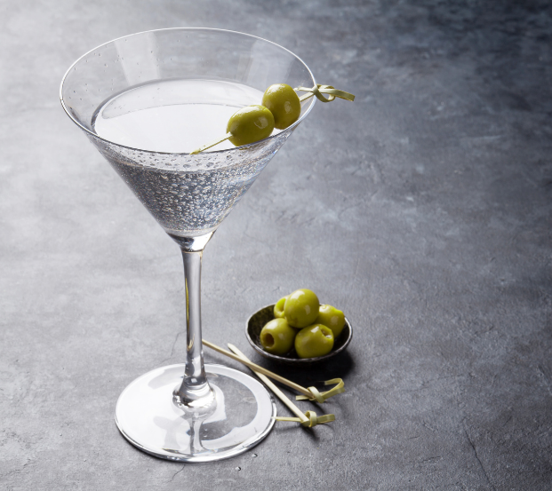 quick dirty martini