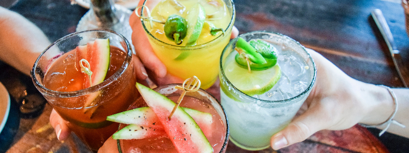 unhealthy alcoholic drinks
